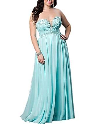 Olivias Beaded Appliques Strapless Corset Back 2016 Prom Dresses Long Plus Size Bridesmaid Dresses Cheap 16w Blue