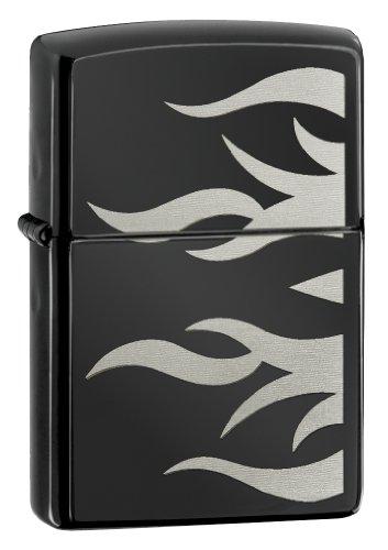 (Zippo Tattoo Flame Lighter, Ebony)