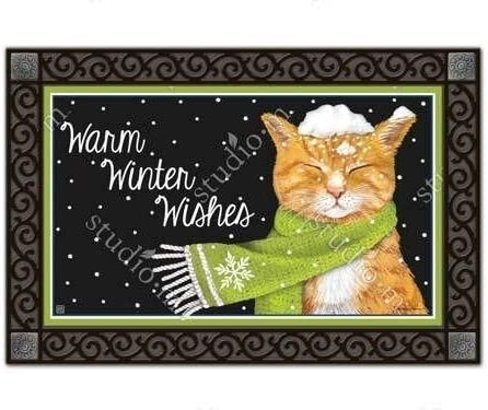 Studio M It s Cold Outside MatMates Doormat
