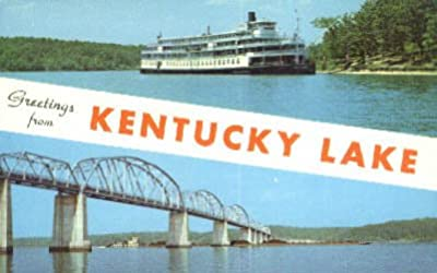 Kentucky Lake, Kentucky Postcard