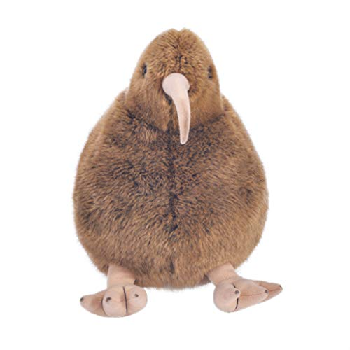 Binory 12IN Funny Collection,Lifelike Brown Kiwis Lovely Bird Stuffed Plush Animal Toys,Baby Doll Home Decorative Pillow,Birthday/Children's Day for Kids Toddlers from Binory