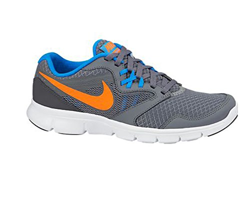 Nike 653701 400 - Zapatillas de fitness Niños Cool Grey/Dark Grey/Blue/Hyper Crimson