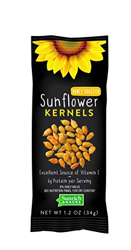 Sunrich Naturals Honey Roasted Sunflower Seed Kernel, 1.2 Ounce -- 150 per case. ()