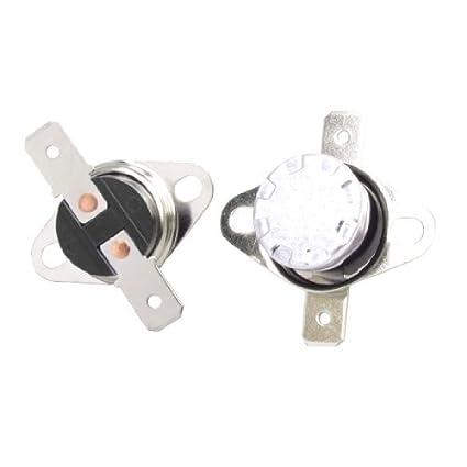 DealMux 5 Pcs 45 Celsius NÃO termostato Térmica Interruptor KSD301