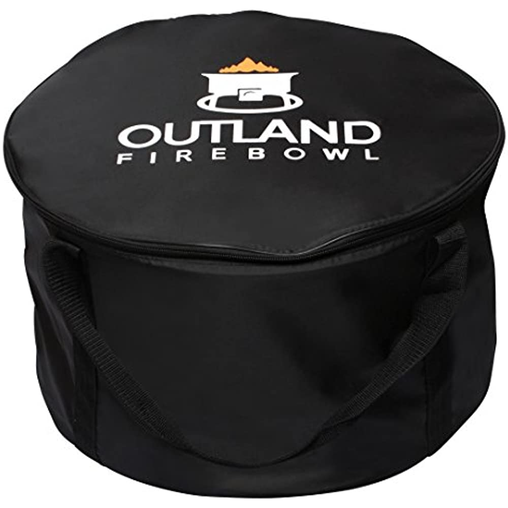 762 UV Weather Resistant Cypress Fire Pit Carry Bag, Fits ... on Outland Living Cypress Fire Pit id=81545