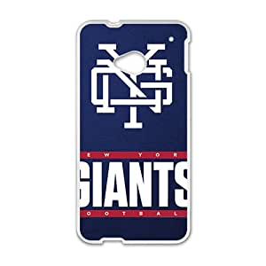 Custom HTC One M7 NFL Sports Logos Case New York Giants Logo Design Protective Bumper Cover