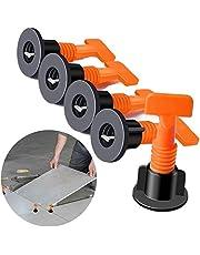 Tegel Levelers Herbruikbaar, 100 stuks Tegel Leveling Systeem Kits, Tegel Spacer voor Keramische, DIY Tool met 2 moersleutel