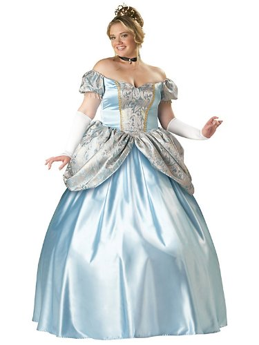 Enchanting Princess Adult Costume - Plus Size