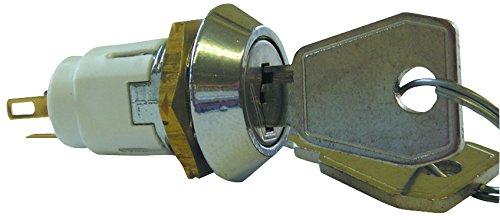 LORLIN SRL-5-E-S-2 SWITCH, KEY LOCK, SPDT, 5A, 115V (1 piece)