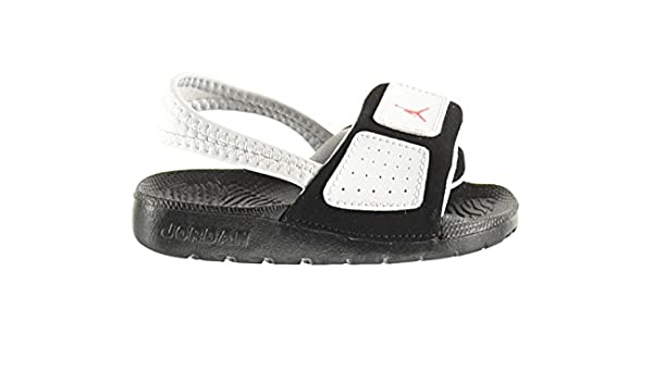 b28b2c48609 Jordan Hydro 3 BT Baby Toddlers Sandals Pure Platinum/Infrared-Black  630761-023