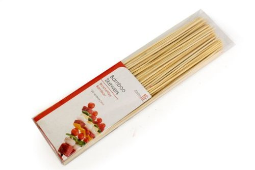 120 x Bamboo Wooden BBQ Grill Barbecue Kebab Meat Vegetable Fruit Sweets Skewers Sticks