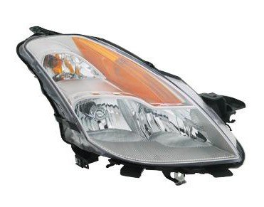 Side Headlight Coupe - Nissan Altima Coupe Replacement Headlight Assembly HID Type - Passenger Side