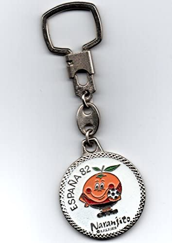 Antiguo Llavero DE ÉPOCA Naranjito Mascota del Mundial DE FÚTBOL ...
