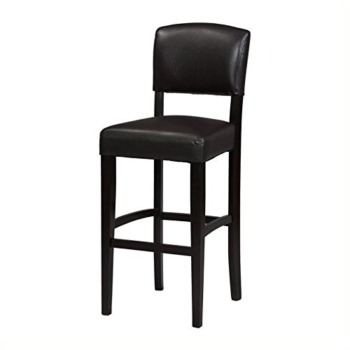 Amazon Com Pemberly Row 30 Quot Bar Stool In Espresso