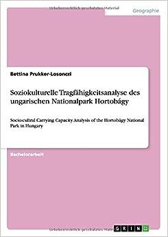 Book Soziokulturelle Tragfähigkeitsanalyse des ungarischen Nationalpark Hortobágy