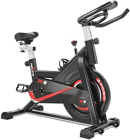 RELIFE REBUILD YOUR LIFE Exercise Bike Indoor Cycling Bike Fitness Stationary All-inclusive Flywheel Bicycle
