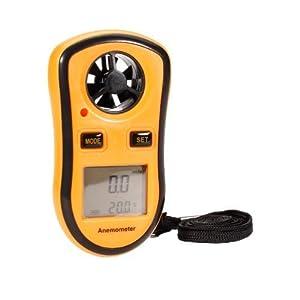 Digitaler Windmesser, Wind Speed Gauge Temperatur von der Geschwindigkeit...