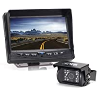 Rear View Safety Backup Camera System with 7 Display (Black) RVS-770613