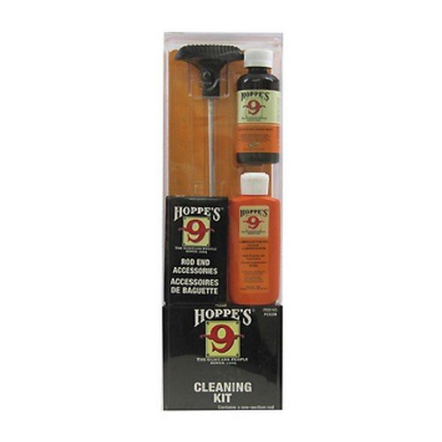 Hoppe's No. 9 Cleaning Kit with Aluminum Rod, .40 Caliber, 1