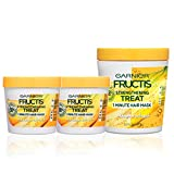 Garnier Hair Care Fructis Banana Hair Treat Mask - 1 400mL + 2 100mL, 1 Kit