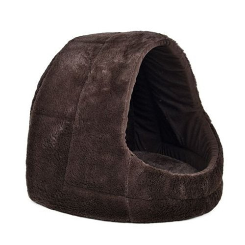 Pet Kennel 4 Colors Soft Outward Good Shape Dog Bed Cat Puppy Kennel Small Medium Dog Bed Luxury