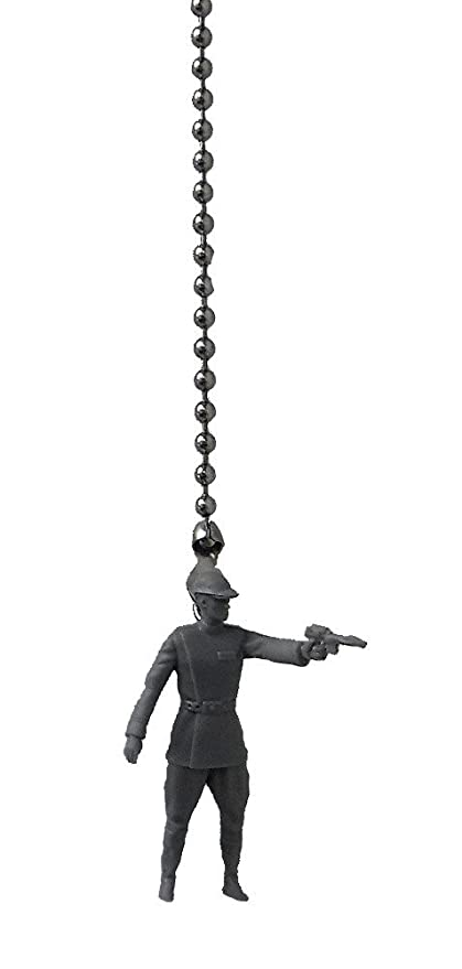 STAR WARS Command Movie Figure Ceiling FAN PULL Light Chain (Gray Imperial  Officer Shooting)