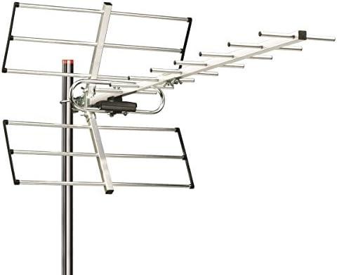 Antena externa de tejado UHF a ancha banda para señales DVB 15 Elementos