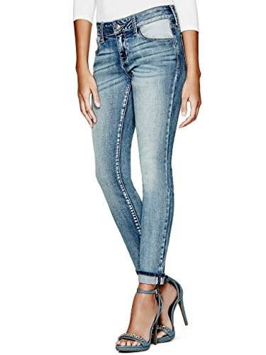 G-by-GUESS-Womens-Eustacia-Cuffed-Skinny-Jeans-in-Medium-Vintage-Wash