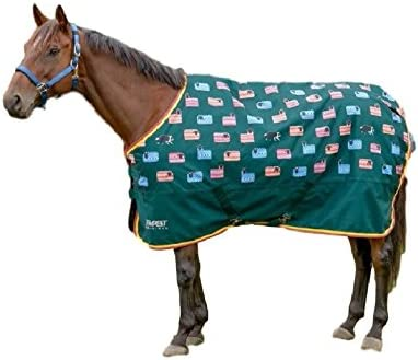 Shires Tempest Lite Lightweight No Fill Standard Neck Turnout Rug Horse Pony