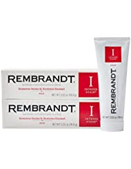 Rembrandt Intense Stain Whitening Toothpaste, Mint Flavor, 3.52-Ounce (2 Pack)