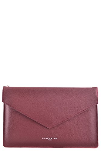 lancaster-paris-womens-mcbi370005o-burgundy-leather-clutch