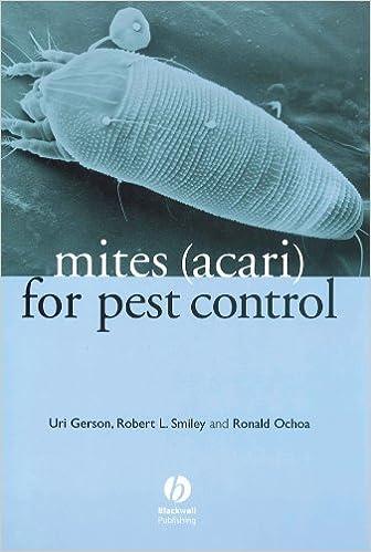 amazon com mites acari for pest control 9780632056583 uri