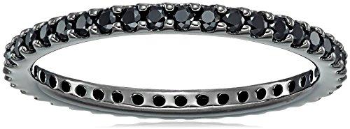 Black Diamond Eternity Rings - 3