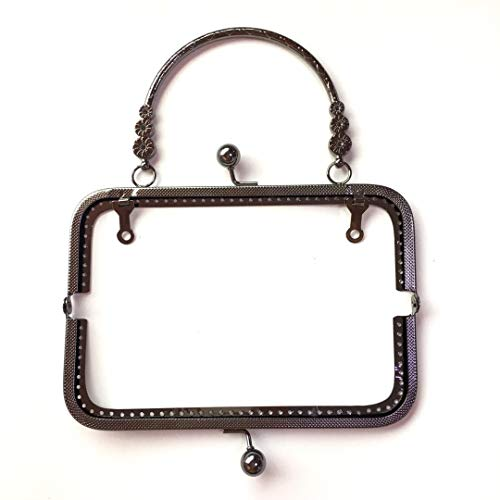 "GuoFa 5PCS 7.9/""//20CM Antique Tone Arch Metal Purse Frame Handle for Clutch Bag Handbag Accessories Bags Hardware Making Kiss Clasp Lock Bronze"