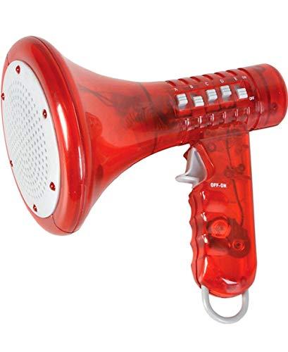 Red Megaphone Voice Changer Speech Effect Modifier Toy