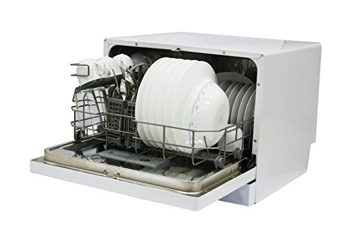 ... MCSCD6W3 6 Place Setting Countertop Dishwasher, White carousel main 2