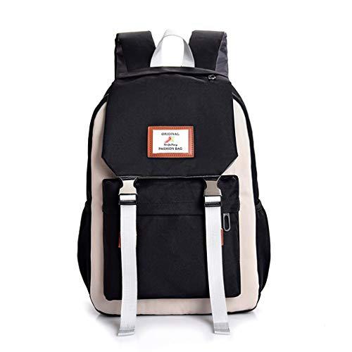 - Campus Women Backpack School Bag for Teenagers College Canvas Female Bagpack Laptop Back Packs