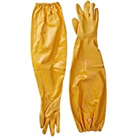 Atlas 772 L Nitrile Chemical Resistant Gloves (1-Pair), 25, Yellow by Atlas