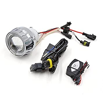 Kit DealMux 2 Dia DC 12V White Angel Ojo 6000K HID Bi-Xenon ...