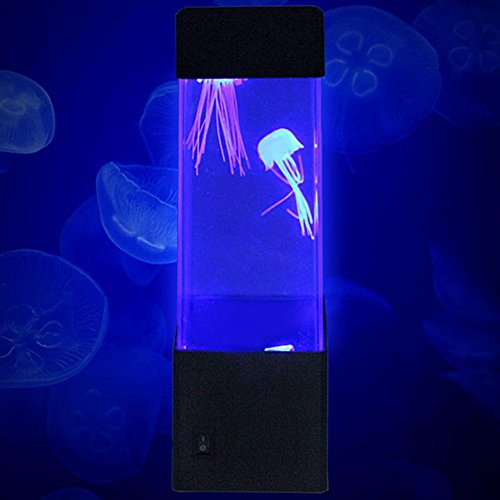 Bornbayb LED Jellyfish Lamp Table Lamp Multi Color Electric Fish Tank Gifts for Women, Men, Kids, Mood Light for Relaxation by Bornbayb (Image #4)