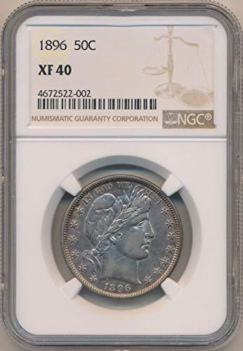 1896 P Barber Half Dollar Half Dollar XF40 NGC