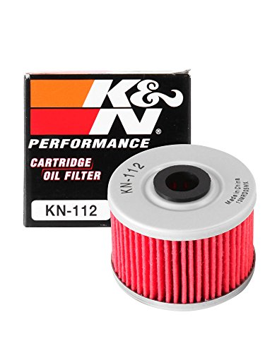 K&N KN-112 Motorcycle/Powersports High Performance Oil Filter