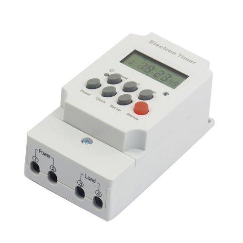 Sonline AC 220V 25A Commutateur electronique de minuterie programmable