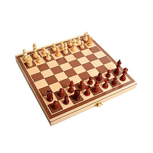 BOENTA Tableros De Ajedrez Ajedrez para Ni?Os Ajedrez Tablero de ajedrez Juego Regalos de ajedrez para Hombres Juegos de…