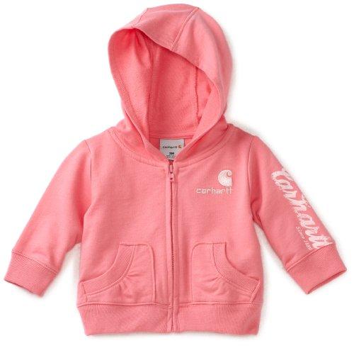 Carhartt Baby Girls' Cozy Zip Front Jacket