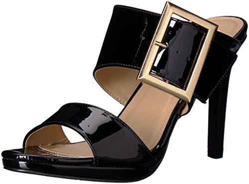 Patente Dazed Sandalia de negro Labios 2 tacón con Demasiado tacón qgTzwn1