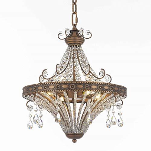 Pecaso Lighting 4705-16-AC Pamplona Chandelier Antique Copper ()