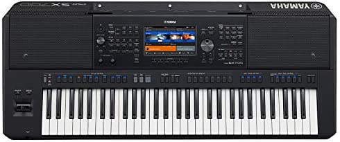 Yamaha PSRSX700 Arranger Workstation keyboard