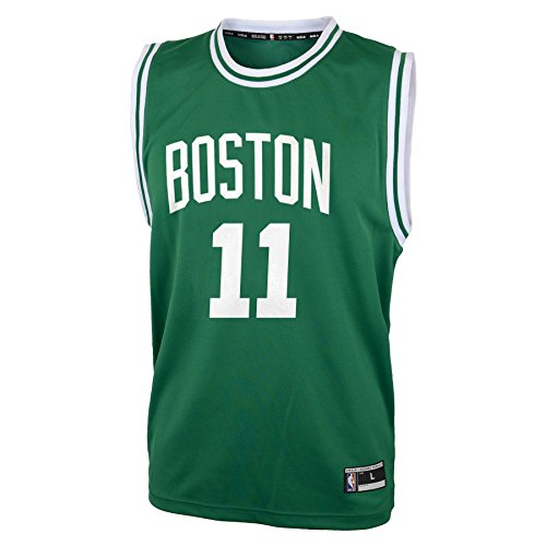 Nba Boston Celtics Kyrie Irving Boys Replica Player Jersey Road Jersey  Small  8   Kelly
