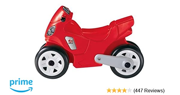 Amazon com: Step2 Red Ride On Motorcycle: Toys & Games